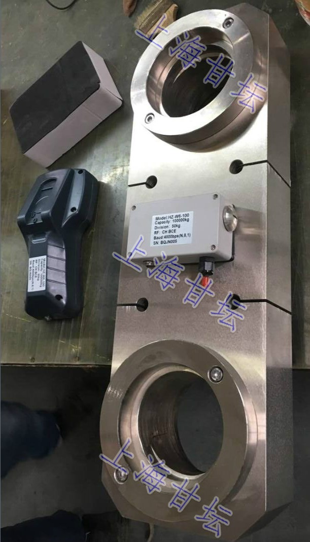 RS485通信拉力计120kn10t(无线手持型.含吊环)